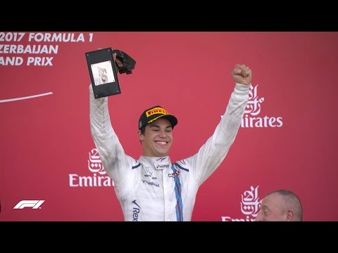 Lance Stroll Claims a Memorable Podium | 2017 Azerbaijan Grand Prix