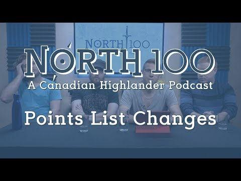 North 100 Ep7 - Points List Changes