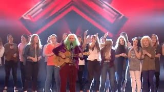 The Audience Comes On Stage to Help Him, But    Not So Well | Week 6 | Britain's Got Talent 2017