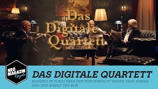 Gambar cover Das Digitale Quartett: Bushido in Tokio | NEO MAGAZIN ROYALE mit Jan Böhmermann - ZDFneo