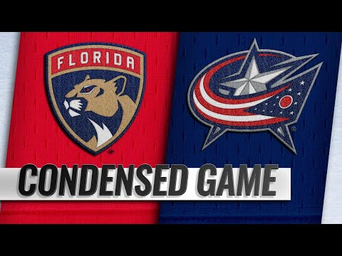11/15/18 Condensed Game: Panthers @ Blue Jackets