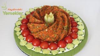 Kısır Tarifi / Kısır Nasıl Yapılır / Kek kalıbında Kısır Nasıl Yapılır / Hayalimdeki Yemekler