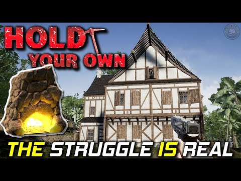 The Struggle Is Real | Hold Your Own...