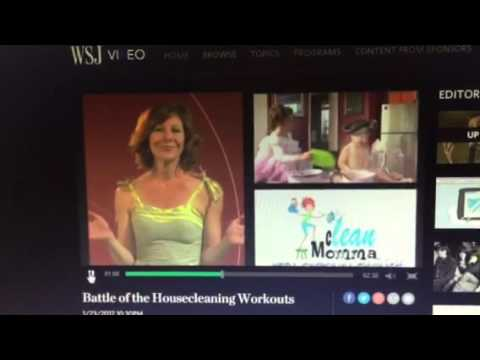 Aerobic house cleaning Wall Street journal video