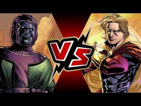 Kang the Conqueror VS Adam Warlock | BATTLE ARENA