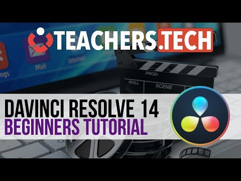 DaVinci Resolve 14 Tutorial 2018 - Designed for Beginners