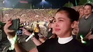 Maine Mendoza Spotted Crying at the Coldplay Concert