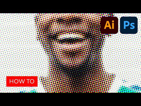 Make a Halftone Effects Pattern and Brushes | Photoshop and Illustrator