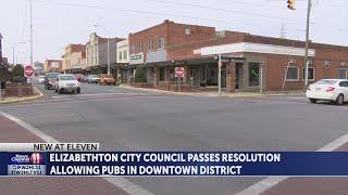 Pub bars legalized in downtown Elizabethton through City Council vote