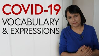 COVID-19: Talking about coronavirus in English – vocabulary & expressions