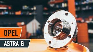 Comment changer Kit de roulement de roue OPEL ASTRA G Hatchback (F48_, F08_) - video gratuit en ligne