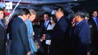 La reina de España llega a Bolivia para visitar proyectos de cooperación