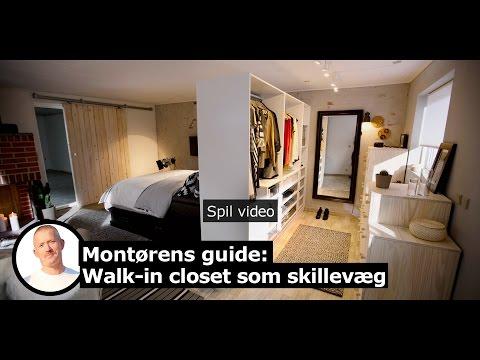 Hjemmeholdet: Byg dit eget walk-in closet