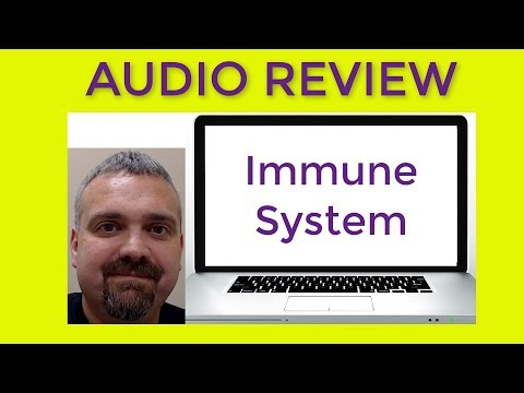 Anatomy Immune System Audio Review Video