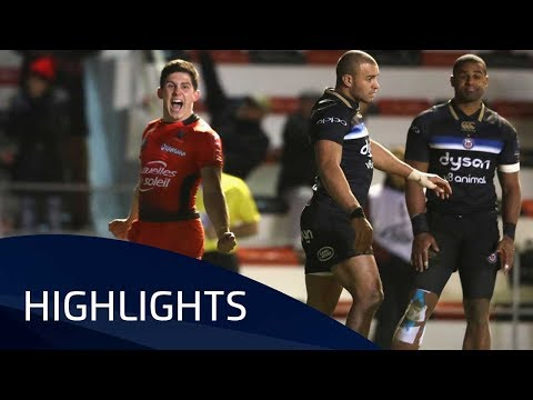 RC Toulon v Bath Rugby (P5) - Highlights – 09.12.2017