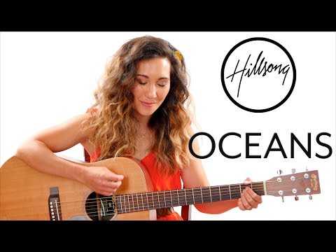 Oceans Hillsong Guitar Tutorial With Play Along