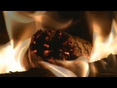 "Fireplace II - 60 Minutes - HD 1080p - Close-Up Views & Natural Sound - ""Sleep Video"" - Meditation"