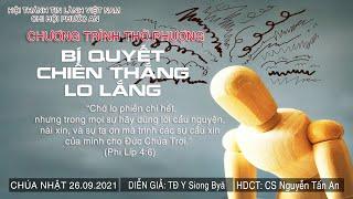 HTTL PHƯỚC AN - Chương trình thờ phượng Chúa - 26/09/2021