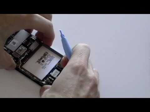 Blackberry Curve 8900 Take apart guide for LCD screen installation