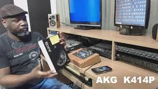 AKG K414P unboxing
