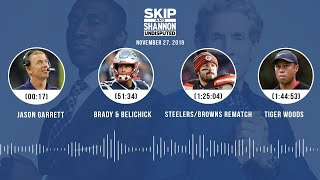 Jason Garrett, Brady/Belichick, Tiger Woods, Clippers | UNDISPUTED Audio Podcast