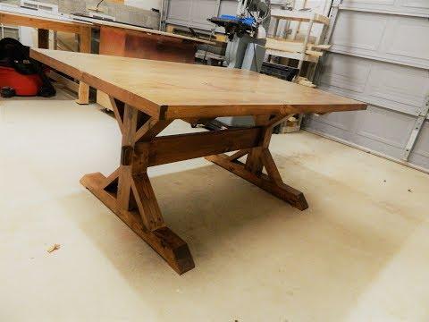 Farm table build/Made a huge mistake