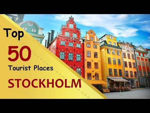 """""""STOCKHOLM"""" Top 50 Tourist Places   Stockholm Tourism   SWEDEN"""