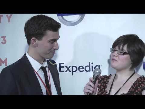 NFFTY 2013 red carpet interview w/Dom Fera