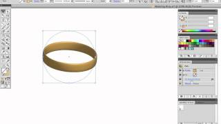 Vector Tuts+ Quick Tip — Make a Wedding Ring or Wristband Using 3D Effects
