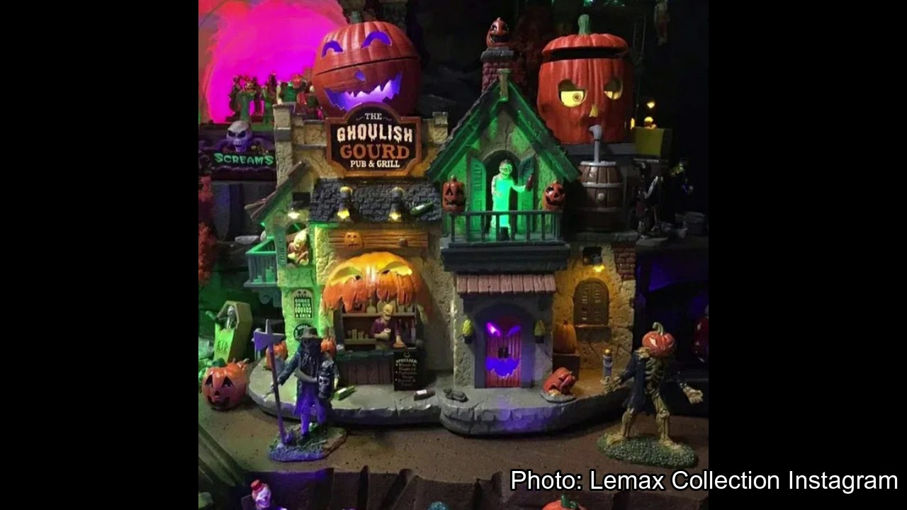 Lemax 2020 Halloween Lemax 2020 Spooky Town Village Sneak Peak!!!   YouTube