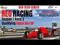 REG Racing | Motorsport Manager with Fire Mod | Episode 5 | Black Sea GP Qualifying