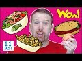 Food Stories for Kids from Steve and Maggie | Learn Speaking Wow English TV