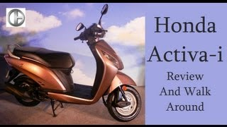 Honda Activa-i Walk Around And Review