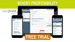Coolfront App - Zero-Cost Flat Rate Pricing App for HVAC Technicians
