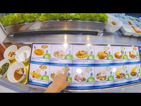Food court Tesco Lotus | Thailand Phuket travel blog [ENG SUB]