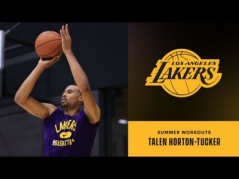THT getting some shots up | Lakers Summer Workouts