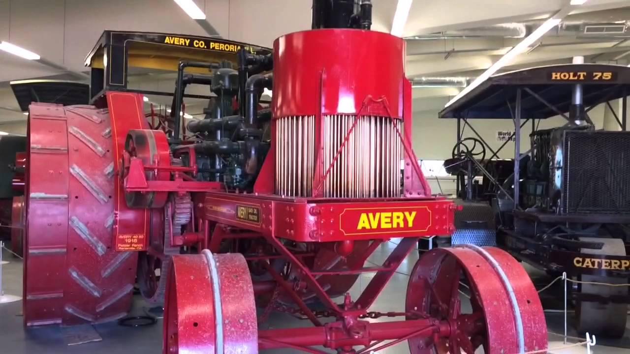Antique Farm Equipment Museum Tulare Ca Youtube