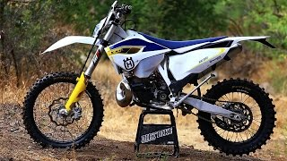 2015 Husqvarna TE 300 2 Stroke with Mike Brown - Dirt Bike Magazine