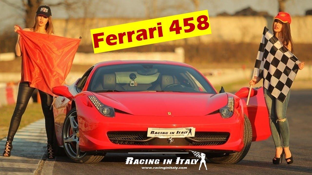 Где я могу водить Ferrari 458 на трассе в Италии?