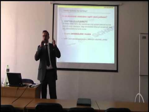 Vyžádaná přednáška: Ing. Robert Selzer (SSI Schäfer) 21.3.2013
