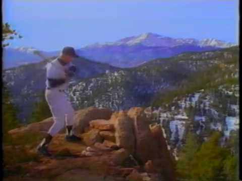 Colorado Rockies First TV Commercial
