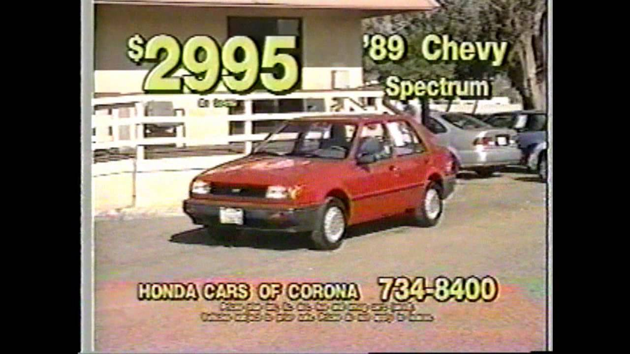 Honda Cars Of Corona   Commercial #9