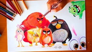 Drawing: ANGRY BIRDS MOVIE | BUDGET ART