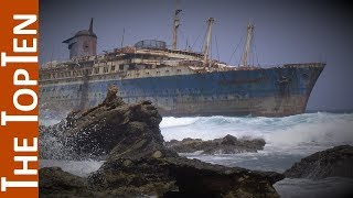 The Top Ten Most Famous Shipwrecks Of The World