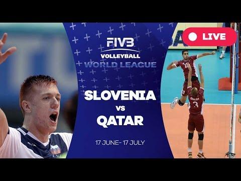 Slovenia v Qatar - Group 3: 2016 FIVB Volleyball World League