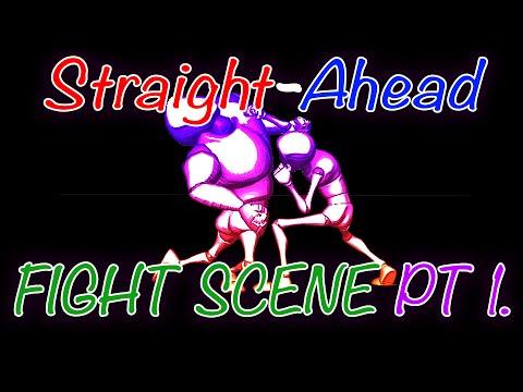Fight scene blockout 001 Straight ahead animation.