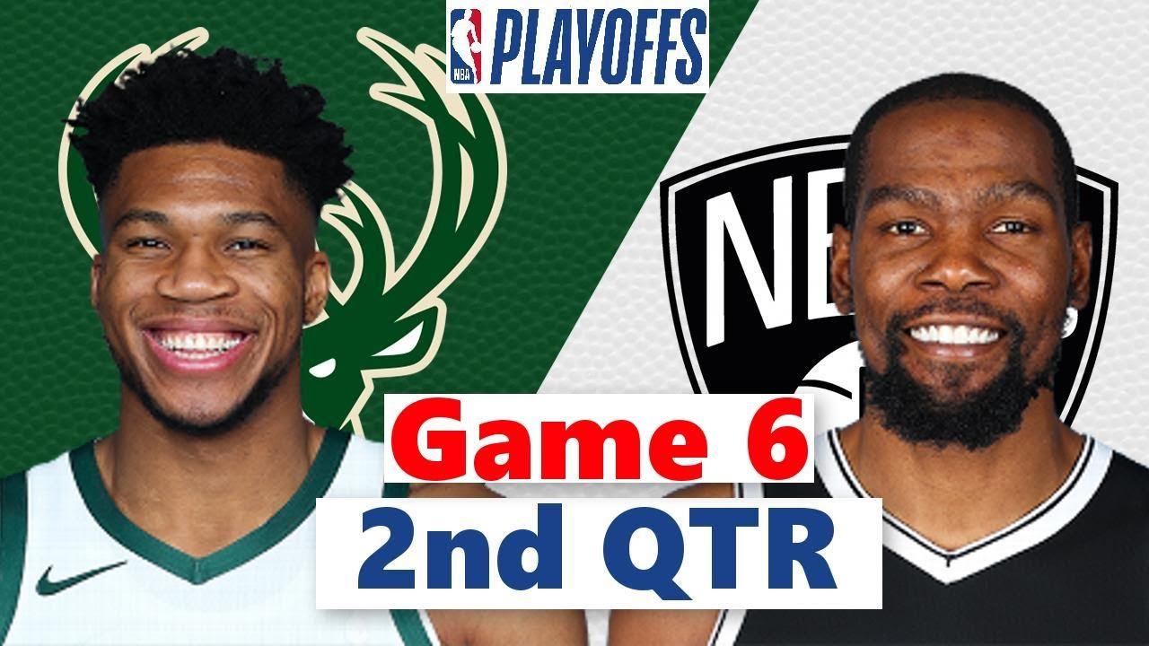 Download Brooklyn Nets vs. Milwaukee Bucks Full Highlight 2nd QTR Game 6 | NBA Playoffs 2021