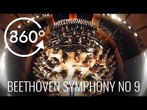 "360° Video Orchestra Wellington ""ODES TO JOY"" VR Beethoven Symphony No 9"