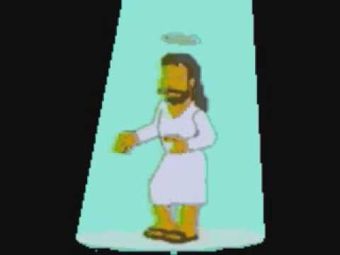 Dancing Jesus Simpsons Gif