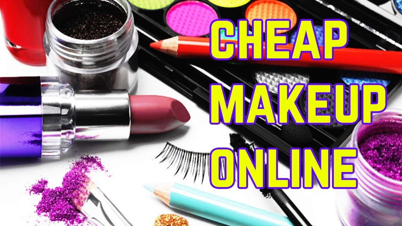 Best places to buy cheap makeup online - My Beauty Corner - YouTube